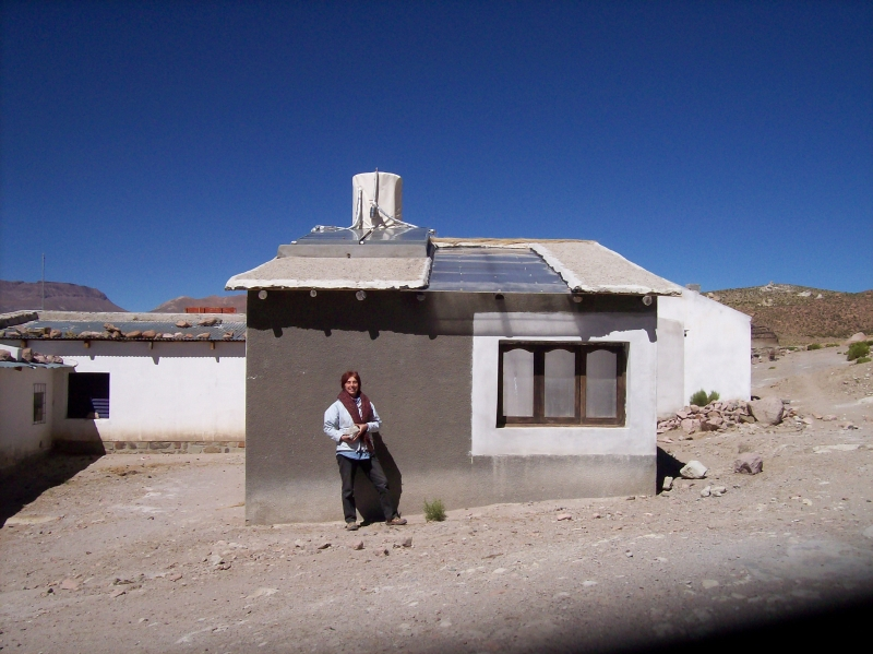 The program belongs to the solar use establishing solar Andean bathhouses